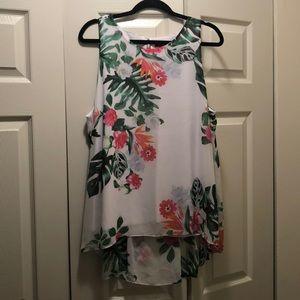 Summer sleeveless shirt. Only worn once